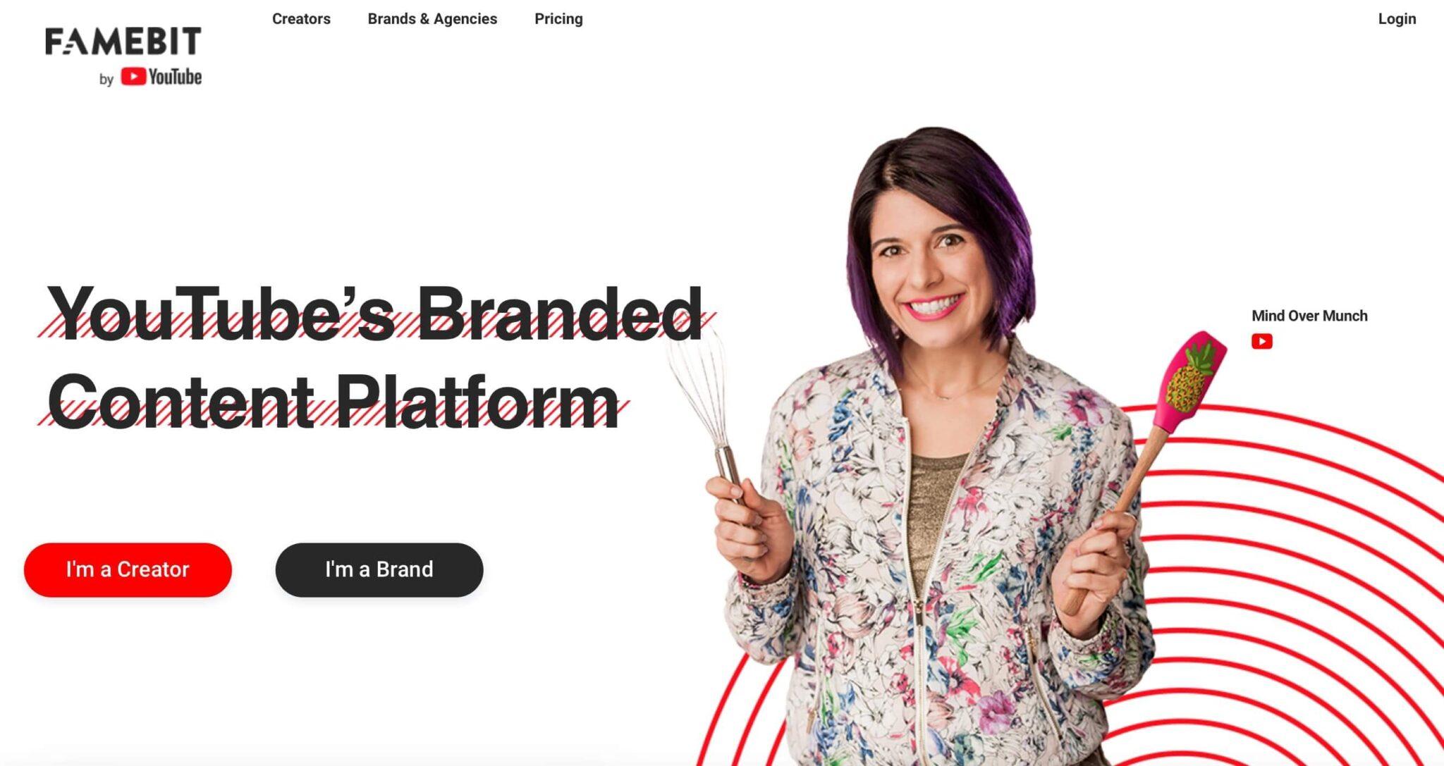 influencer platform fame bit